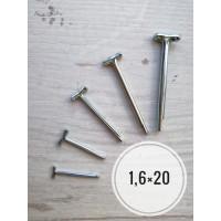 Шплинты Т-образные к-т 10 шт 1.6х20 мм
