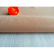 Мех миниплюш ( под натуральную нерпу ) бежевый 1 мм